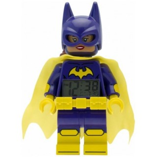 LEGO Batman Movie hodiny s budíkem Batgirl