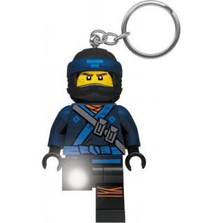 LEGO Ninjago - Jay svítící klíčenka