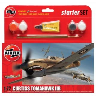 Starter Set letadlo A55101 - Curtiss Tomahawk IIB (1:72)