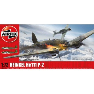 Classic Kit letadlo A06014 - Heinkel HEIII P2 (1:72) - nová forma
