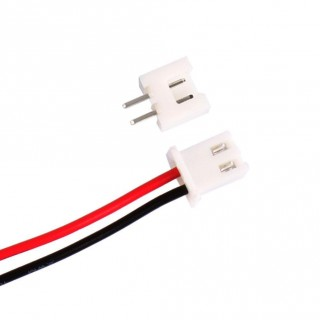 Mini Micro JST XH 2.5-2 Pin Connector plug with Wires Cables