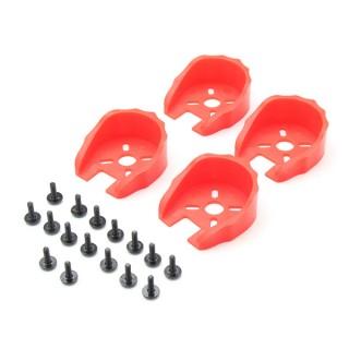 Univerzální ochranný kryt motora pro 22 sériových motorů (červený)