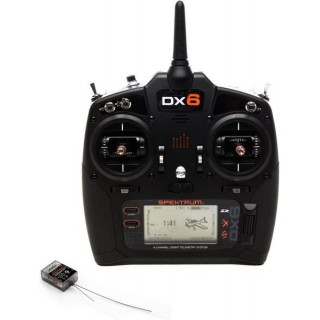DX6 DSM X Spektrum, AR6600T Mód 2 (1-4)
