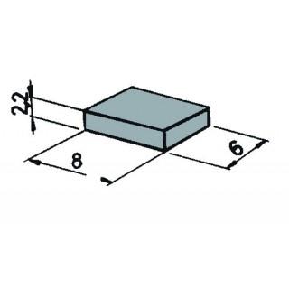 Magnety na podvozek vozidel 6x8x2,2 cm (pro magn. kontakt) 6ks