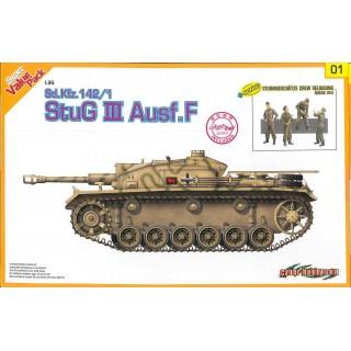 Model Kit tank 9101 - Sd.Kfz.142/1 StuG.III Ausf.F  + BONUS (w/Magic Track) (1:35)