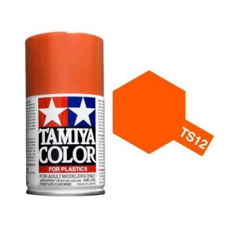 Tamiya Color TS 12 Orange Spray 100ml