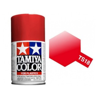 Tamiya Color TS 18 Metallic Red Spray 100ml