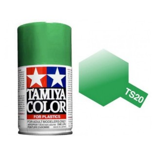 Tamiya Color TS 20 Metallic Green Spray 100ml