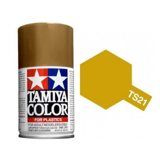 Tamiya Color TS 21 Gold Spray 100ml
