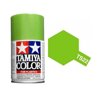 Tamiya Color TS 22 Light Green Gloss Spray 100ml