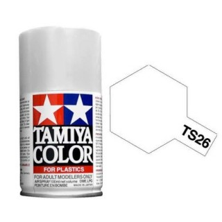 Tamiya Color TS 26 White Gloss Spray 100ml