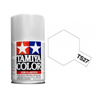 Tamiya Color TS 27 Flat White Spray 100ml