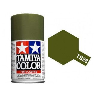 Tamiya Color TS 28 Olive Drab 2 Spray 100ml