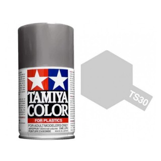 Tamiya Color TS 30 Metallic Silver Spray 100ml