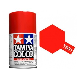 Tamiya Color TS 31 Bright Orange Spray 100ml
