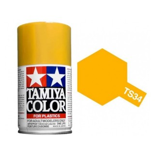 Tamiya Color TS 34 Camel Yellow Spray 100ml