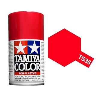 Tamiya Color TS 36 Flourecent Red Spray 100ml