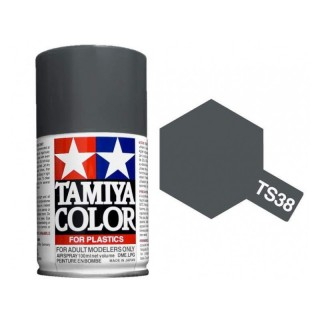 Tamiya Color TS 38 Gun Metal Semi Gloss Spray 100ml