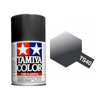 Tamiya Color TS 40 Metallic Black Spray 100ml