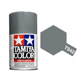 Tamiya Color TS 42 Light Gun Metal Semi Gloss Spray 100ml