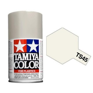 Tamiya Color TS 45 Pearl White Spray 100ml