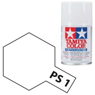 Tamiya Color PS-1 White Polycarbonate Spray 100ml
