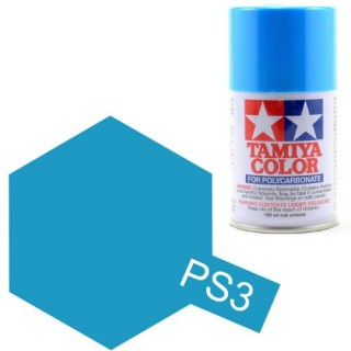 Tamiya Color PS-3 Light Blue Polycarbonate Spray 100 ml