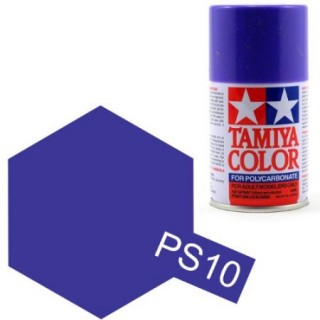 Tamiya Color PS-10 Purple Polycarbonate Spray 100ml