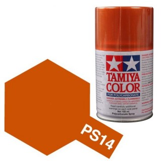 Tamiya Color PS-14 Copper Polycarbonate Spray 100ml