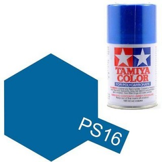 Tamiya Color PS-16 Metallic Blue Polycarbonate Spray 100ml