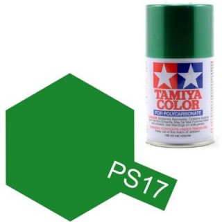 Tamiya Color PS-17 Metallic Green Polycarbonate Spray 100ml