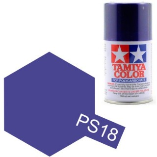 Tamiya Color PS-18 Metallic Purple Polycarbonate Spray 100ml
