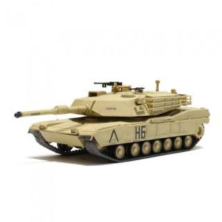 R/C Tank U.S. M1A1 Abrams Desert Yellow 1/72