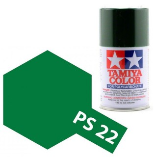 Tamiya Color PS-22 British Racing Green Polycarbonate Spray 100ml