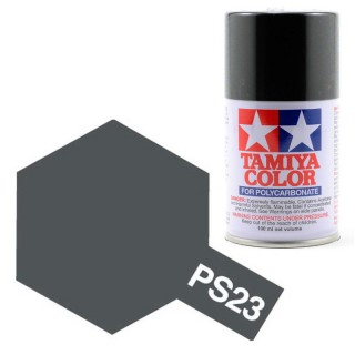 Tamiya Color PS-23 Gun Metal Grey Polycarbonate Spray 100ml