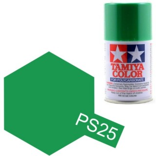 Tamiya Color PS-25 Light Green Polycarbonate Spray 100ml