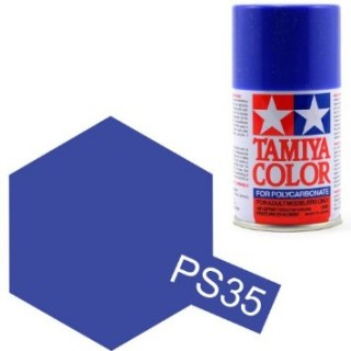 Tamiya Color PS-35 Blue-Violet Polycarbonate Spray 100ml