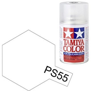 Tamiya Color PS-55 Flat Clear Polycarbonate Spray 100ml