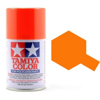 Tamiya Color PS-62 Pure Orange (ENEOS) Polycarbonate Spray 100ml