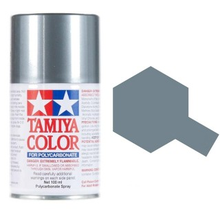 Tamiya Color PS-63 Bright Gun Metal Polycarbonate Spray 100ml