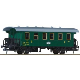 Osobní vagón 2. tř., ČSD