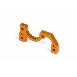T2'009 ALU REAR LOWER SUSP. ADJUST. BULKHEAD - ORANGE