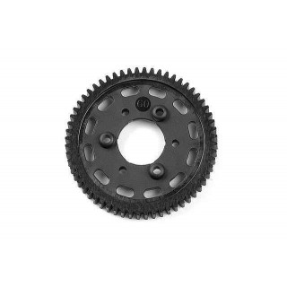 COMPOSITE 2-SPEED GEAR 60T (1st)