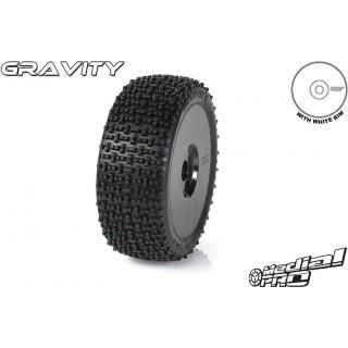 "Medial Pro kolo 3.3"" Rex H17/34mm, pneu Gravity M4 (pár)"