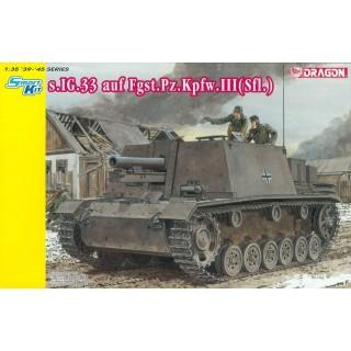 Model Kit military 6713 - s.IG.33 auf Fgst.Pz.Kpfw. III (Slf) (1:35)