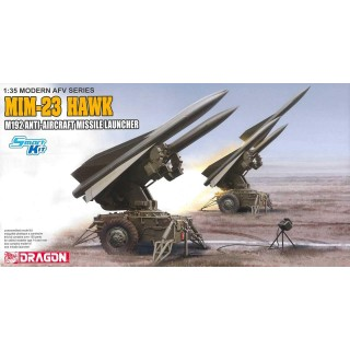Model Kit military 3580 - MIM-23 HAWK M192 ANTIAIRCRAFT MISSILE LAUNCHER (1:35)