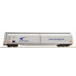 """Vagón s posuvnými stěnami Habbillns """"ZSSK Cargo"""""""