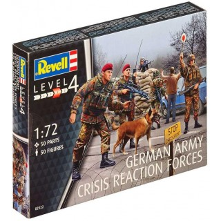 Plastic ModelKit figurky 02522 - German Army Crisis Reaction Force (1:72)