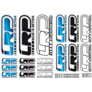 LRP nálepky, A4 logo LRP