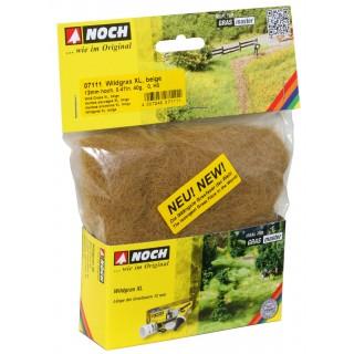 Divoká tráva XL, béžová, 12mm, 40g